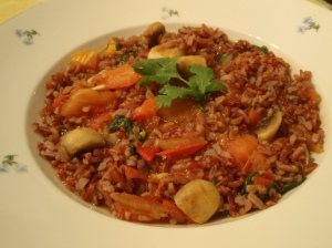 Red rice Pilaf III- Kahliya-logue
