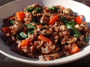 Red rice pilaf II-kahliya-logue