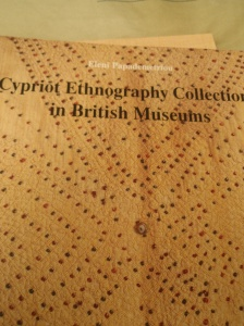 Cypriot Ethnography collections in british museums/Eleni papdemetriou