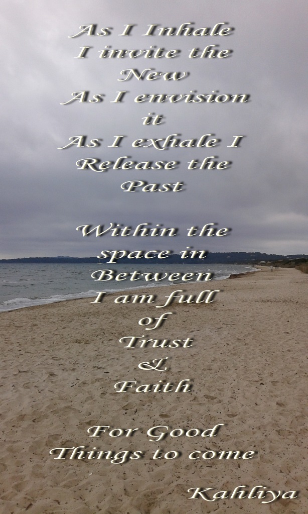 space in between